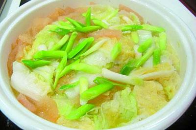 白菜鸡蛋汤图片