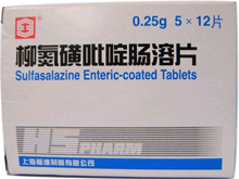 柳氮磺吡啶片