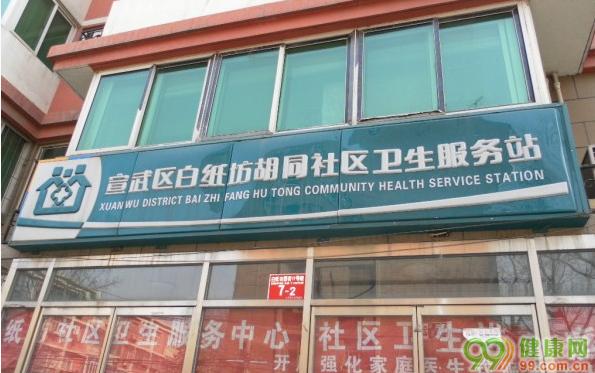 白纸坊胡同社区卫生服务站