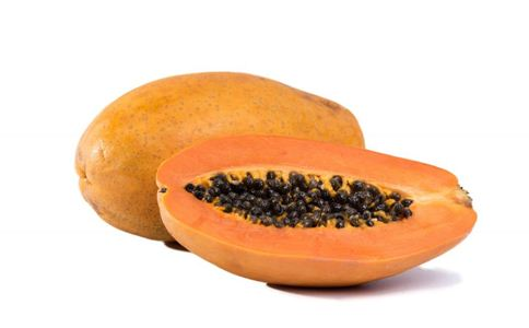 番木瓜中的木瓜蛋白酶能消化蛋白质