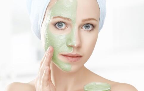 自制面膜 肤质选择面膜