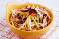 常见凉拌菜 椒香土豆丝的做法