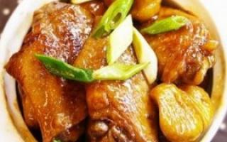 秋季食谱 栗子红烧鸡翅的做法_母婴食谱_饮食_99健康网