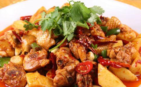 新疆风味大盘鸡