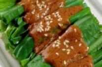 夏季凉拌菜 芝麻酱凉拌油麦菜的做法
