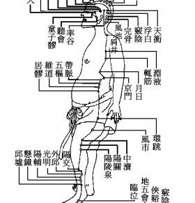 足少阳胆经 足少阳胆经的位置 什么是足少阳胆经