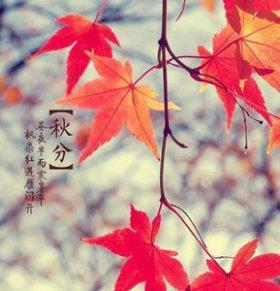 2014秋分是什么时候 秋分的习俗 秋分养生