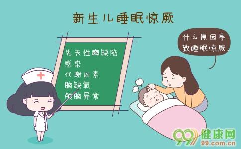 新生儿睡眠惊厥 新生儿睡眠惊厥的症状 新生儿睡眠惊厥的检查