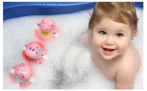 宝宝害怕洗澡怎么办 5招搞定图片
