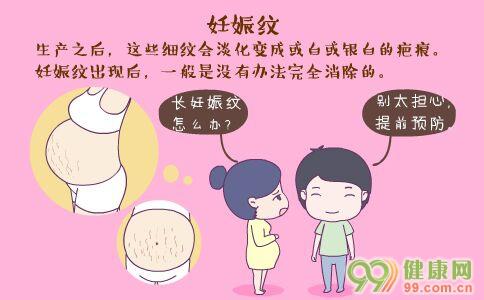 准妈妈防治妊娠纹 妊娠纹如何预防 妊娠纹怎么去除