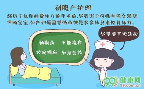 剖腹产后护理方法 剖腹产怎么吃 剖腹产后如何锻炼