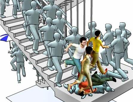 如何防范并在拥挤踩踏事故时自救呢?