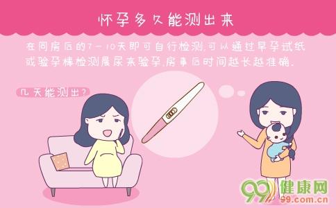 验孕后多久测出来 早孕测试最佳时间 测孕纸多久能测出来