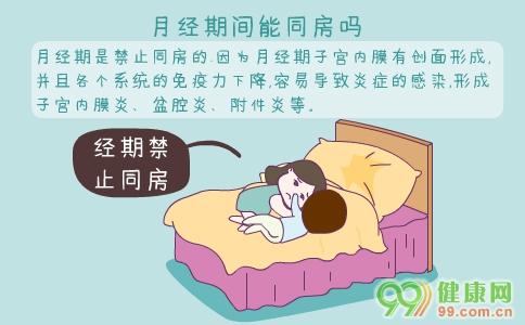 经期同房会怀孕吗 月经期间能同房吗 经期同房的危害