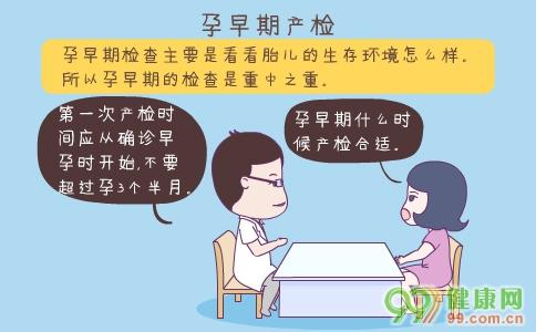 孕早期检查注意事项 孕早期检查项目 孕早期检查时间