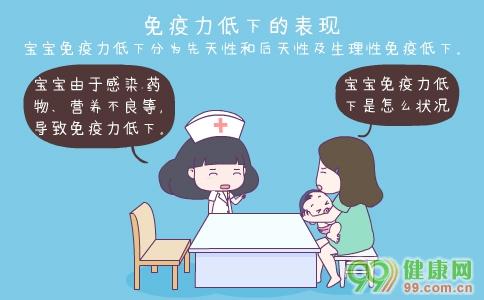 宝宝免疫力低下的表现 宝宝免疫力低下有哪些表现 宝宝免疫力低下的原因