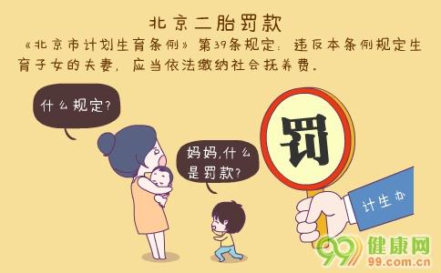 北京二胎罚款 北京合法生育二胎办理手续 二胎罚款标准