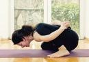 蕙兰瑜伽健康瑜伽减肥 :腿旋转式