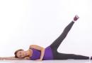 蕙兰瑜伽健康瑜伽减肥:踮脚蹲式