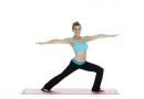 蕙兰瑜伽健康瑜伽减肥:腿旋转式