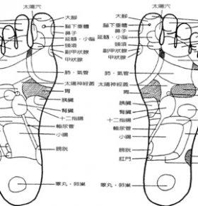 详解脚底穴位图 脚底穴位都有哪些 脚底有什么穴位