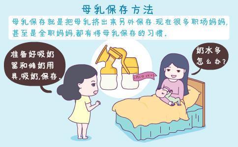 母乳保存的方法 如何保存母乳 母乳保存时间和方法