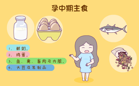 孕中期吃什么好 孕妇吃什么好 孕妇饮食禁忌