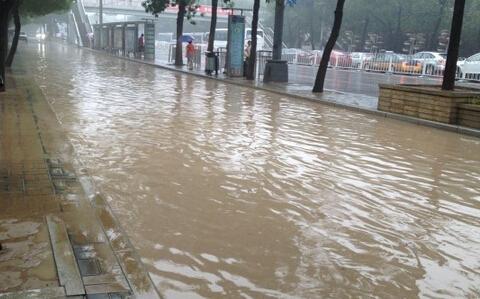 北京暴雨橙色预警 北京暴雨 北京暴雨积水点