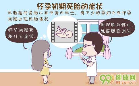 怀孕初期死胎的症状 怀孕初期死胎的原因 怀孕初期死胎怎么处理