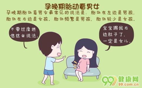 孕晚期胎动看男女 孕晚期胎动频繁会是男孩吗 孕晚期胎动位置看男女