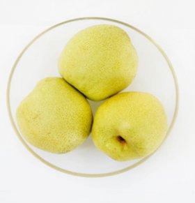 饭后吃梨有利排光体内致癌物