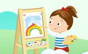 七彩童年幼儿美术大赛