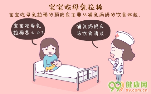 宝宝吃母乳拉稀 宝宝吃母乳拉稀的症状 宝宝吃母乳拉稀的原因
