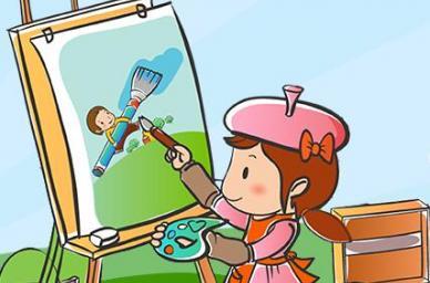 厦门喜悦幼儿园七彩童年幼儿美术大赛