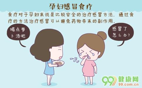 孕妇感冒食疗 孕妇感冒吃什么 孕妇感冒不能吃什么