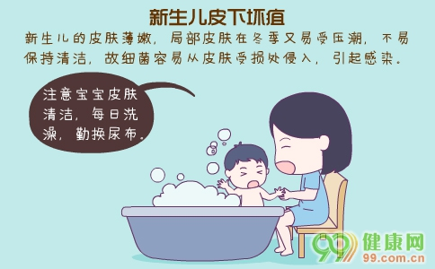 新生儿皮下坏疽 新生儿皮下坏疽病因 如何预防新生儿皮下坏疽