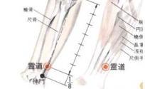 灵道穴的功效与作用 灵道穴的准确位置图 按摩灵道穴的作用