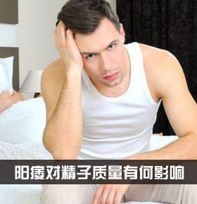 阳痿对精子质量有何影响 阳痿症状有哪些