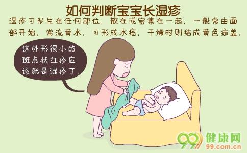 如何判断宝宝长湿疹 宝宝长湿疹症状 宝宝长湿疹治疗偏方