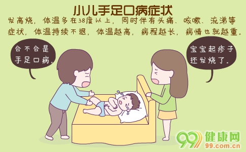 小儿手足口病症状 小儿手足口病怎么办 小儿手足口病的护理