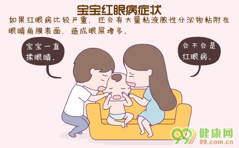 小孩子红眼病症状 儿童红眼病的症状 宝宝红眼病怎么办