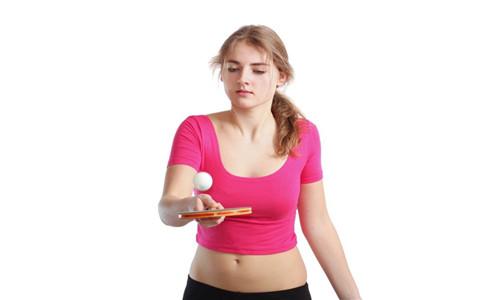 打乒乓球前的热身运动 球拍选用