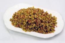 助孕食谱 酸豆角炒肉末的做法