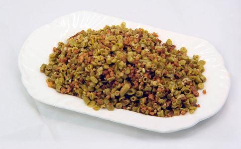 助孕食谱 酸豆角炒肉末的做法 酸豆角炒肉末