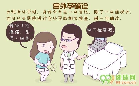 宫外孕确诊方法 造成宫外孕的原因 宫外孕的早期症状