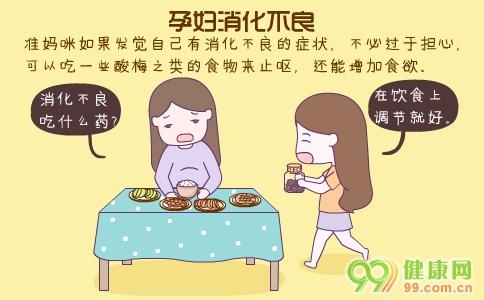 孕妇消化不良 孕妇消化不良怎么办 孕妇消化不良吃什么好