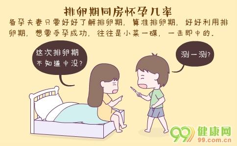 排卵期同房怀孕几率 排卵期同房怀孕几率大吗 排卵期同房后几天能测出是否受孕