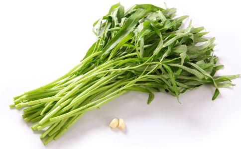 孕期食谱 蒜香空心菜的做法 蒜香空心菜