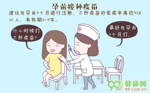 孕前接种疫苗 孕前必须接种的疫苗 孕前接种疫苗注意事项