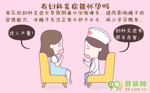 有妇科炎症能怀孕吗 妇科炎症有哪些症状 妇科炎症的常规检查